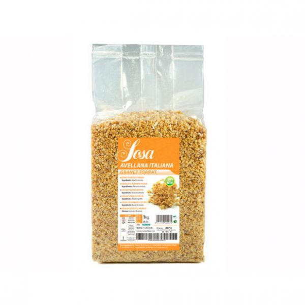 Alune italiene prajite cubulete (1 kg), Sosa