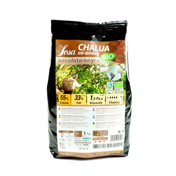 Chalua Mi-Amere 55% cuvertura intunecata organica, Sosa