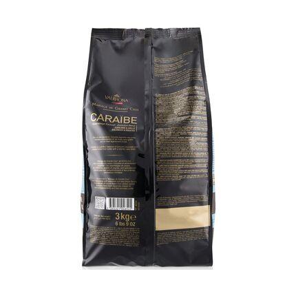 Ciocolata Caraibe 66% granule 3 kg