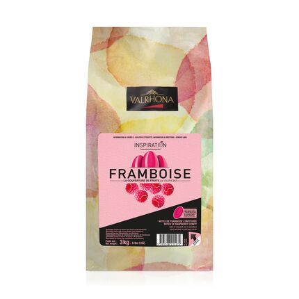 Ciocolata Raspberry Inspiration granule 3 kg