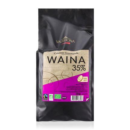 Ciocolata Waina 35% granule 3 kg