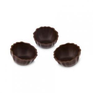 Cosulete de ciocolata neagra medii