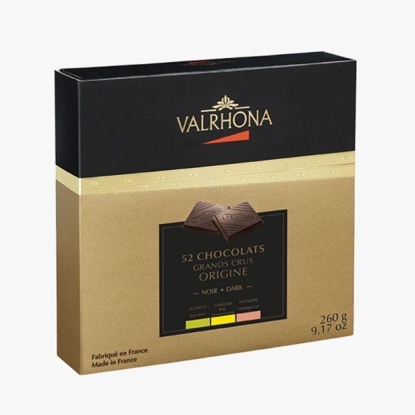 52 ciocolate Grand Crus Origine Cutie de Cadou