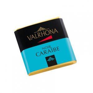 Bomboane de ciocolata Caraibe 66% patratele