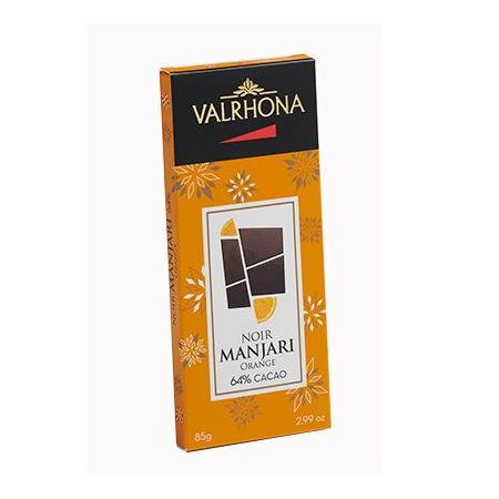 Ciocolata Christmas Manjari Orange 64% baton 85g