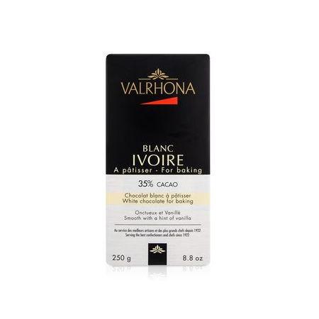 Ciocolata Ivoire 35% mini bloc 250g
