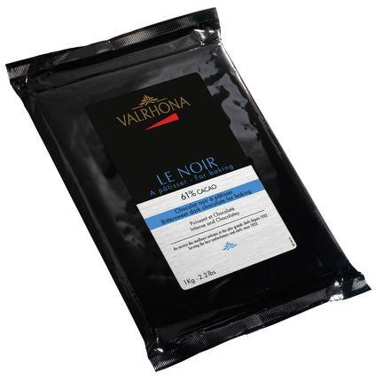 Ciocolata Le Noir 61% bloc 1kg