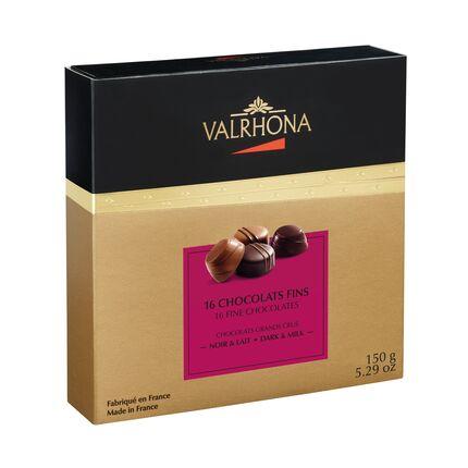 Cutie de 16 ciocolate fine Lait&Nior 150g