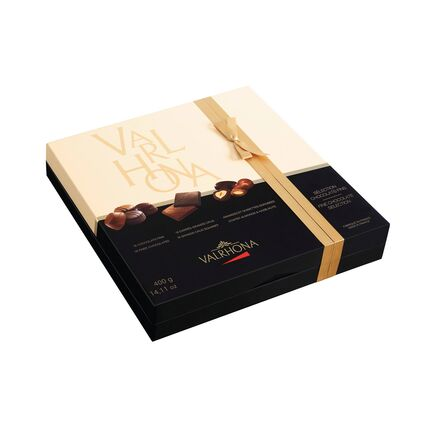 Sortiment de bomboane de ciocolata Valrhona Cutie de Cadou 400g