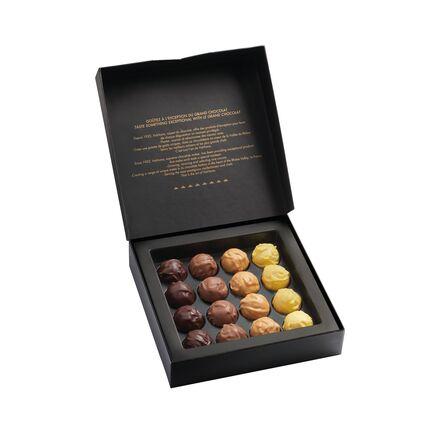 Truffles Valrhona cutie de cadou 210g