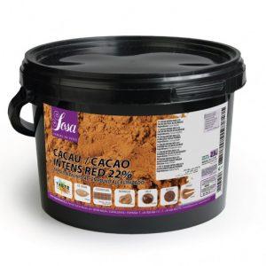 Intens Red 22% praf de cacao, Sosa