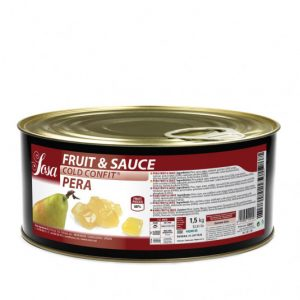 Bucati de pere 10x10mm Fructe si sos (1,5 kg), Sosa