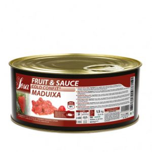 Capsuni 15x15mm Fructe si sos (1,5 kg), Sosa