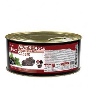 Coacaze negre 5x5mm Fructe si sos (1,5 kg), Sosa
