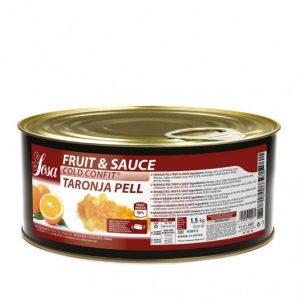 Coaja de portocala taiata 5x5mm Fructe si sos (1,5 kg), Sosa
