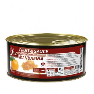 Coji de mandarine taiete 5x5mm Fructe si sos (1,5 kg), Sosa