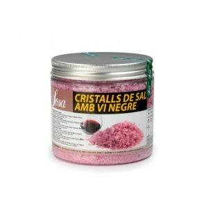 Cristale de sare de vin rosu, Sosa