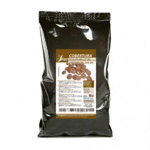 Cuvertura de ciocolata neagra 62% (5 kg), Sosa