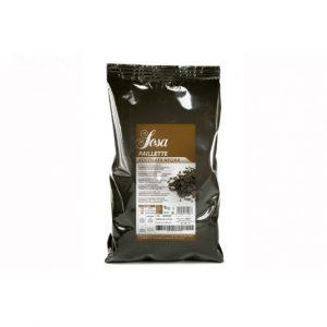 Dark chocolate paillete (1kg), Sosa