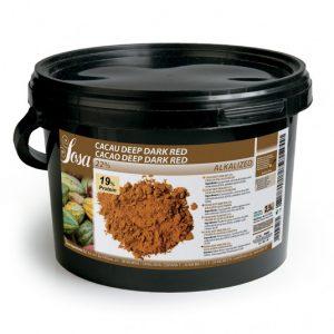 Deep Dark Red 22% pudra de cacao (2,5 kg), Sosa