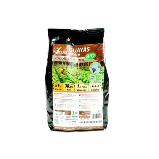 Guayas Amere 61% cuvertura intunecata organica, Sosa
