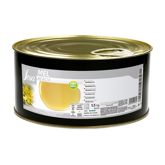 Miere de salcam maghiara (1,5 kg), Sosa
