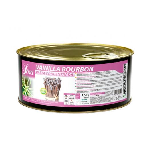 Pasta concentrata de vanilie Bourbon, Sosa