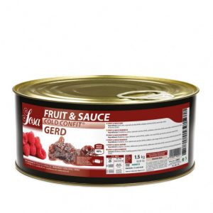 Zmeura 15x15mm Fructe si sos (1,5 kg), Sosa