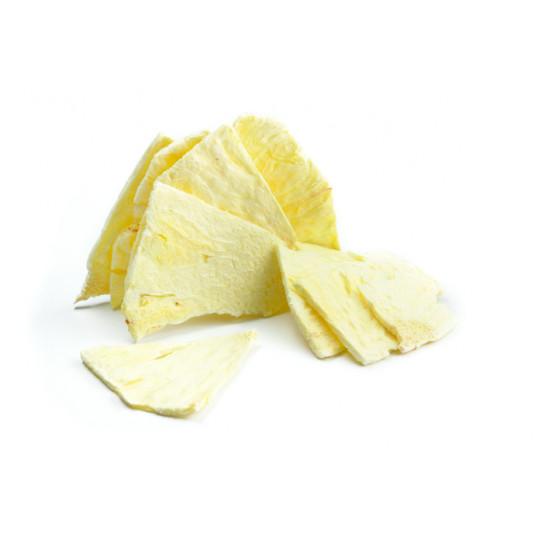 Ananas liofilizat in triunghiuri, Sosa