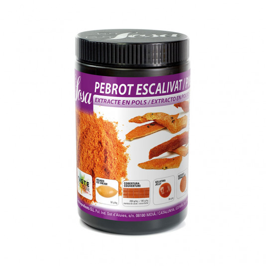 Ardei prajit extract natural praf (600g), Sosa