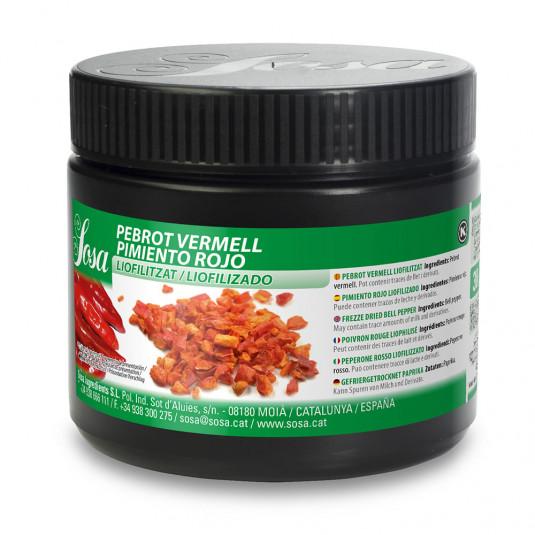 Bucati de ardei rosu liofilizat (30g), Sosa