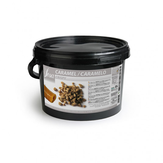 Caramel crocant, Sosa
