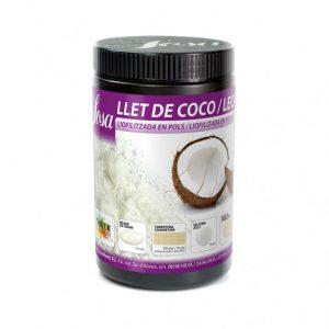 Cocos lapte praf, Sosa