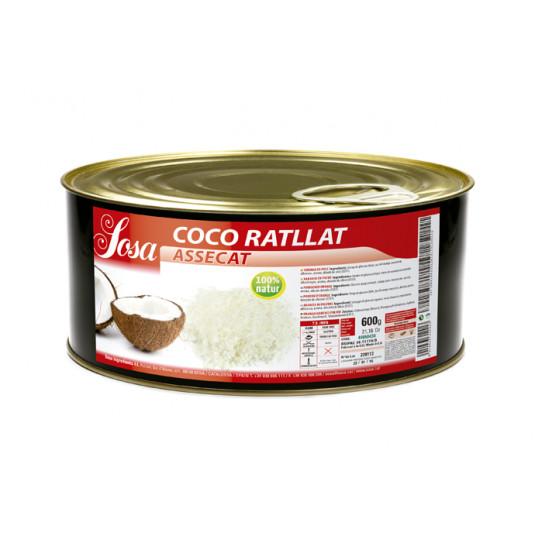Cocos ras uscat, Sosa