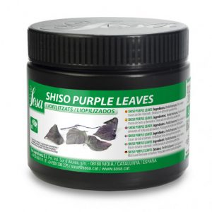 Frunze violet Shiso liofilizat (3g), Sosa