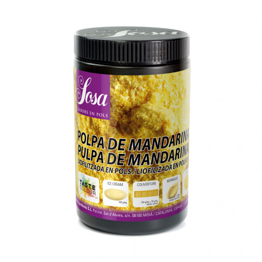 Mandarina (pulpa) liofilizata praf, Sosa