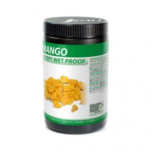 Mango crocanta wet-proof, Sosa