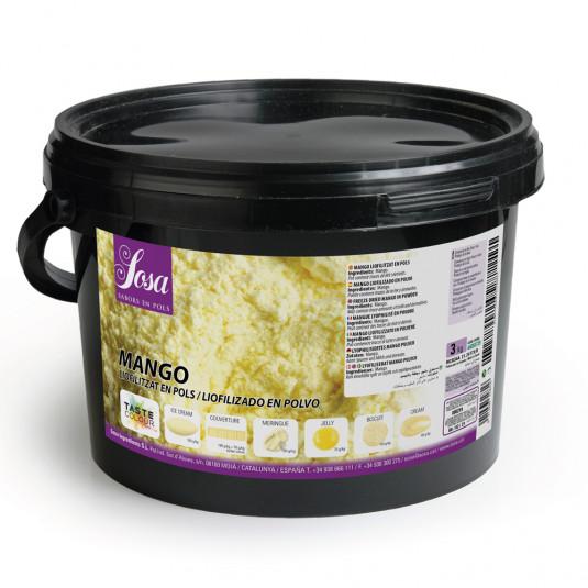 Mango liofilizat praf, Sosa