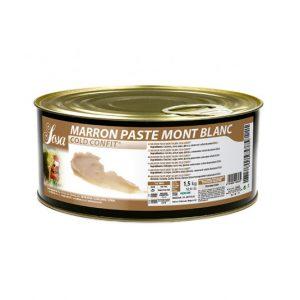 Castane Montblanc pasta (1,5 kg), Sosa