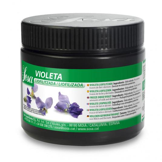 Petale de violete liofilizate (7g), Sosa