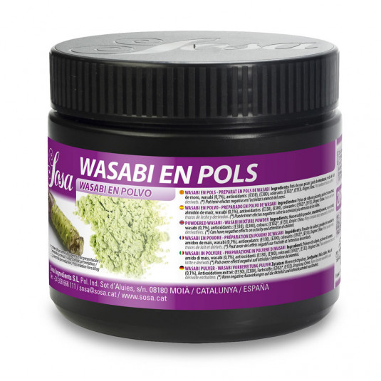 Wasabi praf (200g), Sosa