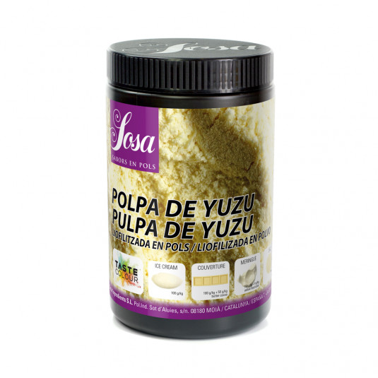 Yuzu (pulpa) liofilizat praf, Sosa