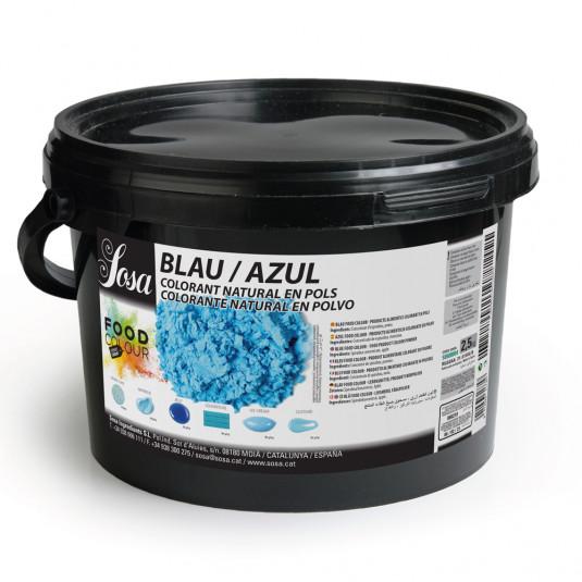Albastru - colorant alimentar praf, Sosa