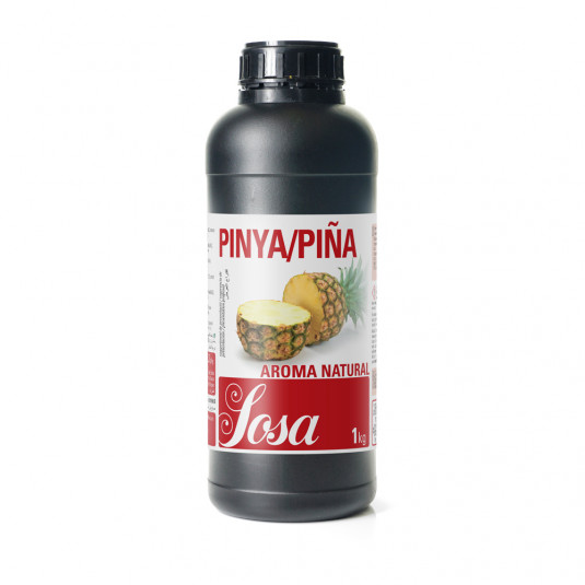 Ananas aroma naturala, Sosa