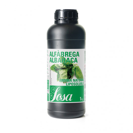 Busuioc aroma naturala liposolubila, Sosa