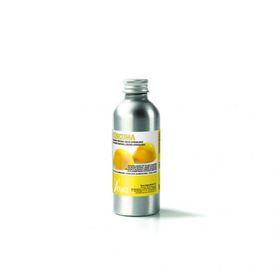 Curcuma galbena - colorant lichid natural solubil in grasime (100g), Sosa