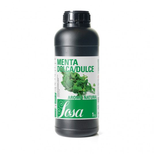 Menta dulce aroma naturala, Sosa