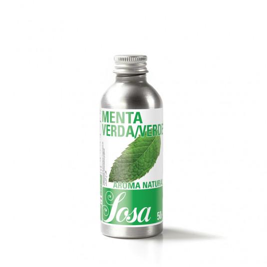 Menta verde aroma naturala, Sosa