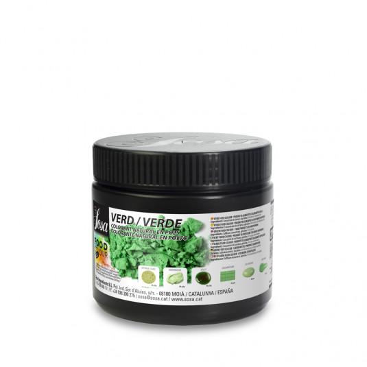 Verde - colorant alimentar praf, Sosa