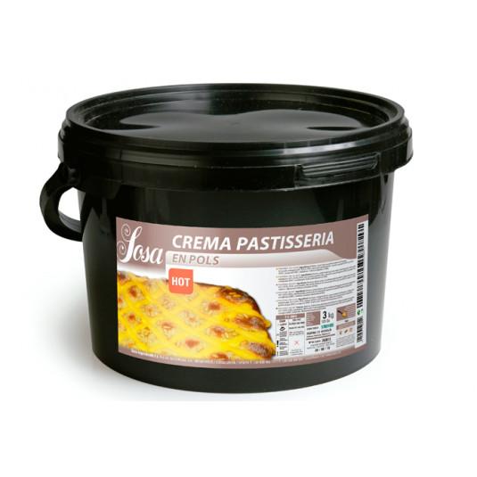 Crema de patiserie Fierbinte pulbere, Sosa